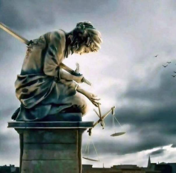 LADY JUSTICE HARAKIRI